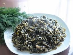 Шпинат с рисом (Спанакоризо)