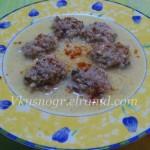 Юварлакья - греческий суп с фрикадельками