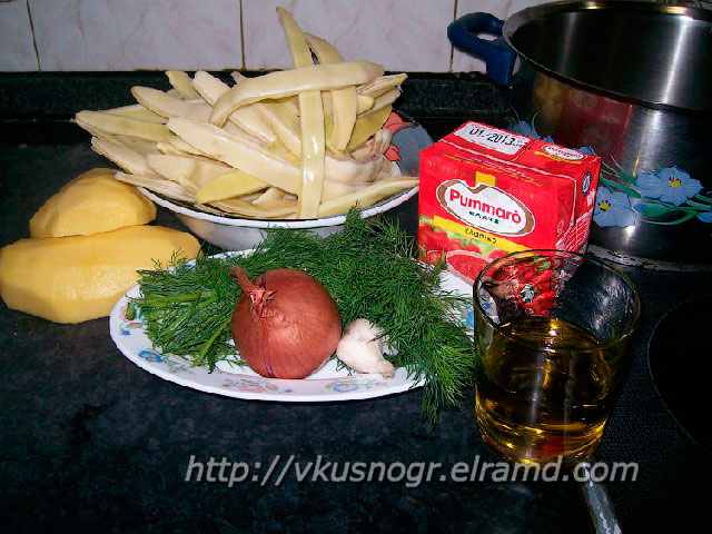 фасоль в томатном соусе ингредиенты