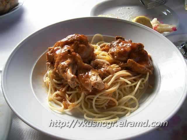 Рецепт петуха в винном соусе