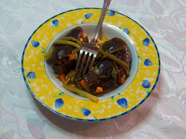Баклажаны маринованные рецепт