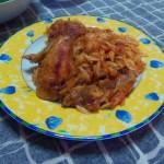 Курица в томатном соусе с крифараки
