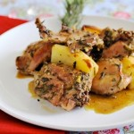 Кролик в духовке с цитрусовым ароматом