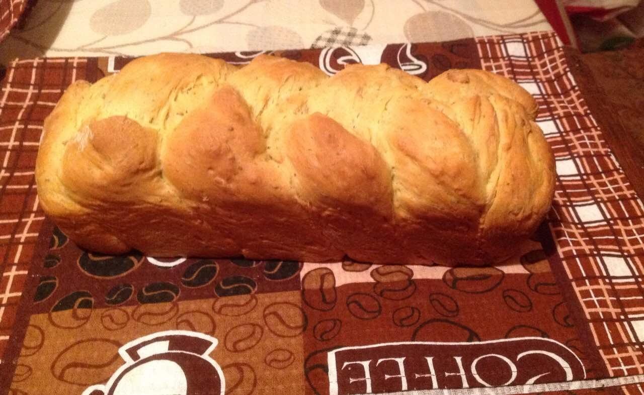 Вкусный оливковый хлеб