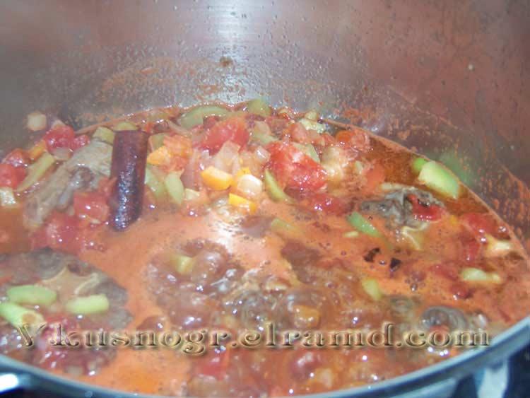 Бычьи хвосты рецепт в томатном соусе